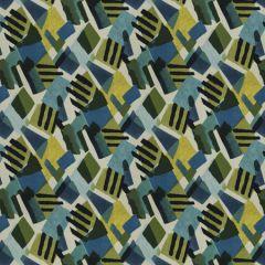 URBAN ART Deep Sea Fabricut Fabric