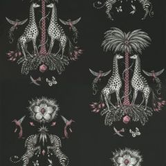 W0114/01-CAC CREATURA Charcoal Clarke & Clarke Wallpaper