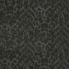 W0115/03-CAC FELIS Charcoal/Rose Gold Clarke & Clarke Wallpaper
