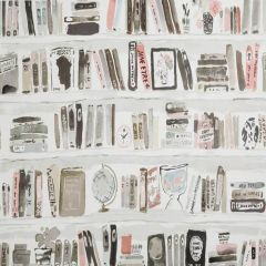 W3332-711 BELLA BOOKS Blush Kravet Wallpaper