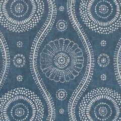 W3500-50 PAINTERLY Indigo Kravet Wallpaper