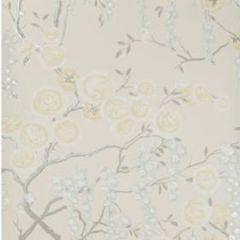 W3507-415 PEONY TREE Citrine Kravet Wallpaper