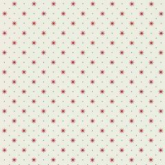 WHN 000R P1003 TRIXIE Red & Black On White Scalamandre Wallpaper