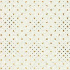 WHN 00YY P1003 TRIXIE Gold/Black On White Scalamandre Wallpaper
