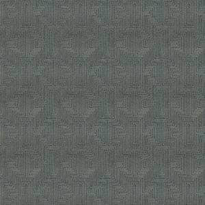 VELVET MAZE Charcoal Fabricut Fabric