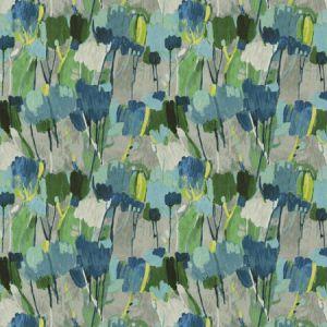 MIXED MEDIA Ocean Fabricut Fabric