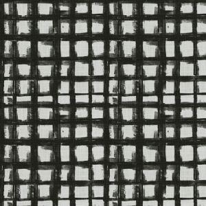 CREATIVE MARK Black Ink Fabricut Fabric