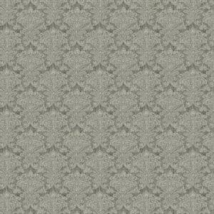 ORDERLY DAMASK Charcoal Fabricut Fabric
