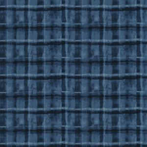 CRAFTS CHECK Indigo Fabricut Fabric
