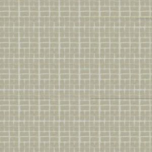 MACRAME CHECK Chalk Fabricut Fabric