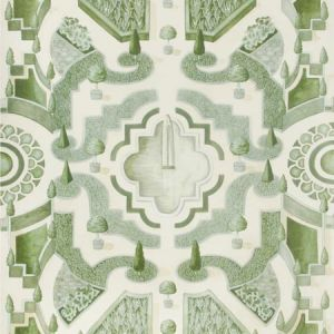 115/2005-CS TOPIARY Leaf Green Cole & Son Wallpaper