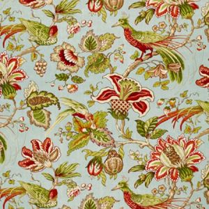 1273002 SANDRINGHAM Robin'S Egg Schumacher Fabric