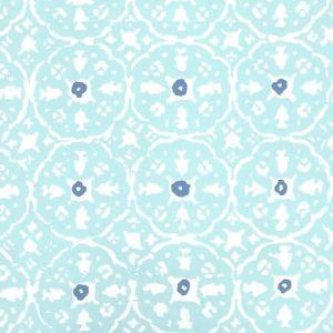 149-59WP NITIK II New Blue Blue On Almost White Quadrille Wallpaper