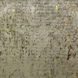 Astek MC103 Metal Cork White Gold Wallpaper