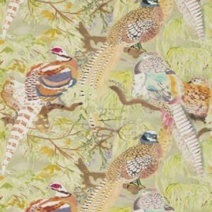 FG085-Y101 Game Birds Multi Mulberry Home Wallpaper