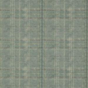 FG086-R11 Shetland Plaid Teal Mulberry Home Wallpaper