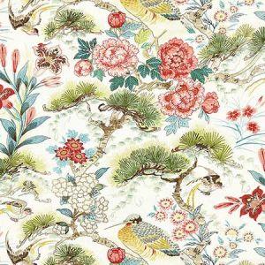 16601-003 SHENYANG LINEN PRINT Bloom Scalamandre Fabric