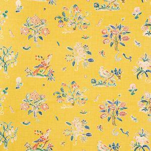 176751 MAGICAL MENAGERIE Yellow Schumacher Fabric