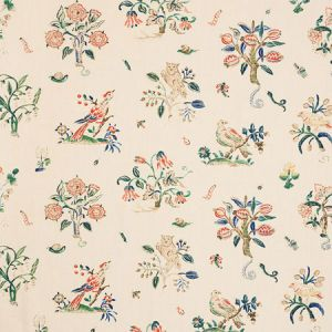 176752 MAGICAL MENAGERIE Primary Schumacher Fabric
