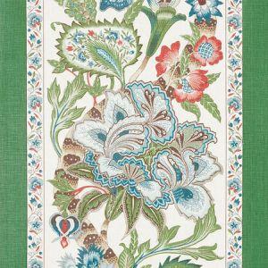 178520 ANJOU STRIPE Emerald Schumacher Fabric