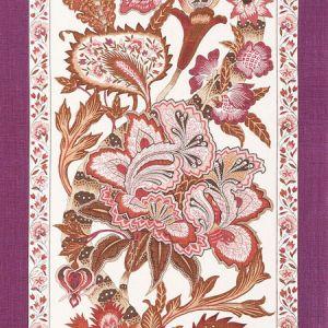 178523 ANJOU STRIPE Rose Schumacher Fabric