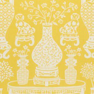 178551 HELLENE Yellow Schumacher Fabric