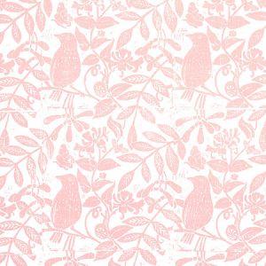 179210 BIRD & BEE Pink Schumacher Fabric