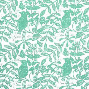 179211 BIRD & BEE Sea Glass Schumacher Fabric