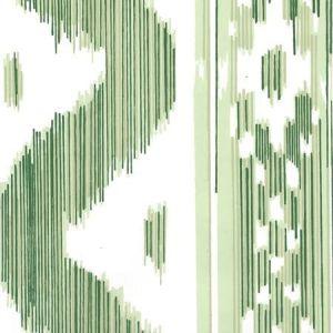 2020-03AWP BALI HAI Greens On Almost White Quadrille Wallpaper