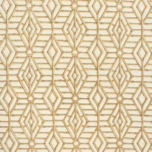 2020114-164 BAMBOO CANE Beige White Lee Jofa Fabric