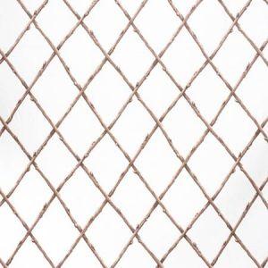2020116-1116 BARE TWIG TRELLIS Brown White Lee Jofa Fabric