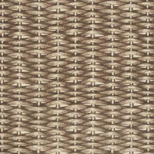 2020117-1166 BASKET WEAVE Brown Ecru Lee Jofa Fabric
