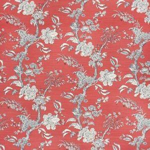 2020120-950 BEIJING BLOSSOM Crimson Navy Lee Jofa Fabric