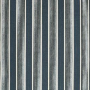 2020131-501 ELBA STRIPE Navy Lee Jofa Fabric