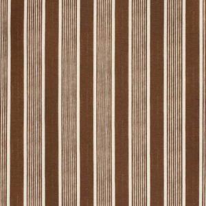 2020131-661 ELBA STRIPE Brown Lee Jofa Fabric