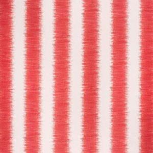 2020135-19 HAMPTON STRIPE Red Ecru Lee Jofa Fabric