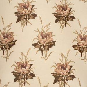 2020143-1016 MELBA FLOWER Plum Ecru Lee Jofa Fabric