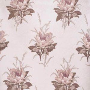 2020143-110 MELBA FLOWER Plum White Lee Jofa Fabric