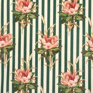 2020144-73 MELBA FLOWER STRIPE Pink Lee Jofa Fabric