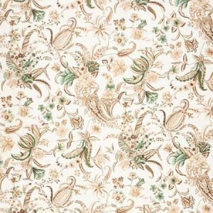 2020155-6316 PAISLEY PASSION Brown Green Lee Jofa Fabric