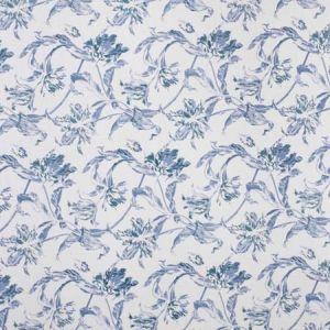 2020161-15 RUSSIAN TULIP Blue Lee Jofa Fabric