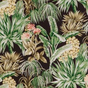 2020196-6374 CALUYA PRINT Espresso Lee Jofa Fabric