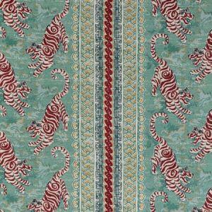 2020197-1394 BONGOL PRINT Aqua Lee Jofa Fabric