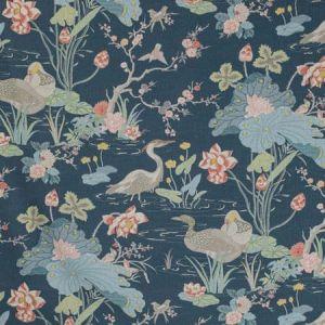 2020198-507 LUZON PRINT Sapphire Lee Jofa Fabric