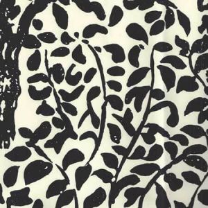 2030-11WP ARBRE DE MATISSE Black On Off White Quadrille Wallpaper