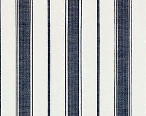 27110-004 SCONSET STRIPE Indigo Scalamandre Fabric
