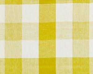 27135-003 WESTPORT LINEN PLAID Citron Scalamandre Fabric