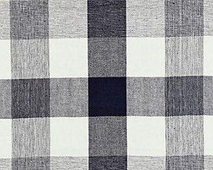 27135-008 WESTPORT LINEN PLAID Navy Scalamandre Fabric