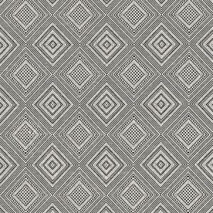 27197-006 ANTIGUA WEAVE Carbon Scalamandre Fabric