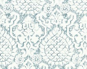 27217-001 SURAT EMBROIDERY Sky Scalamandre Fabric